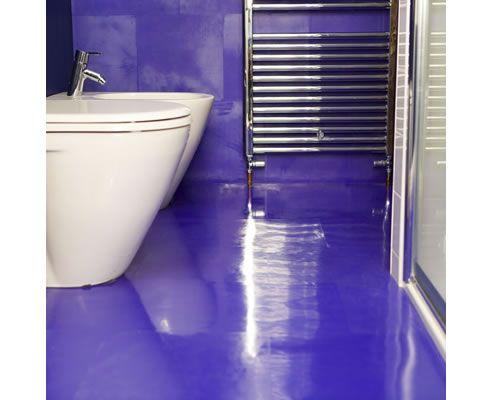 Purple Rubber Bathroom Floor - http://www.spec-net.com.au/press/0811/dal_100811.htm