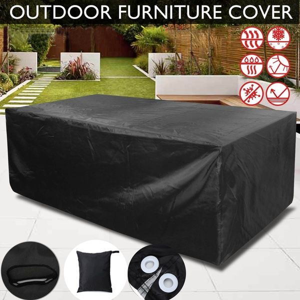 8 Size Outdoor Furniture Cover Patio Garden Table Chair Shelter