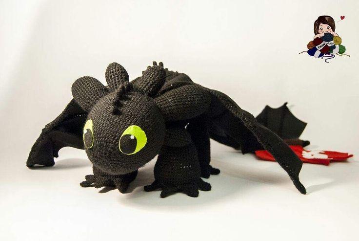 Amigurumi How To Train Your Dragon : 17 mejores imagenes sobre All Things Yarn en Pinterest ...