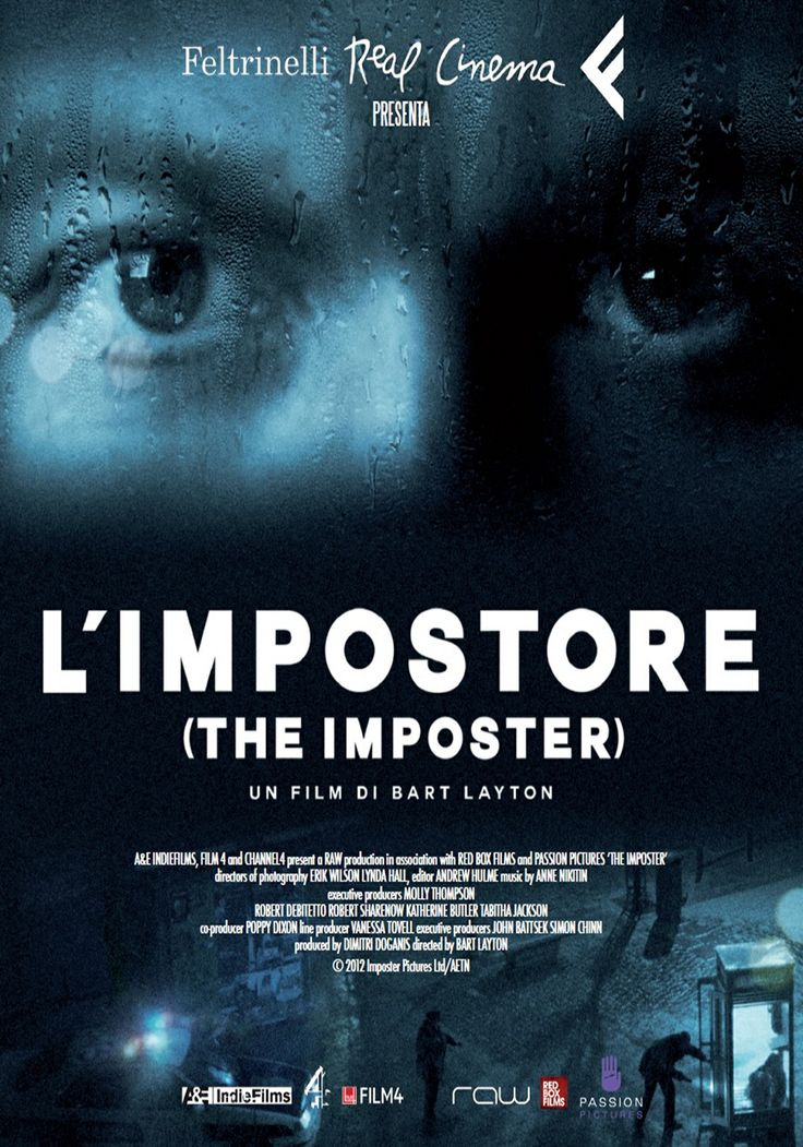 L'impostore - The Imposter | Poster Italiano