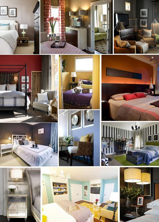 Beautiful Bedroom Color Schemes Walls And Decor Pinterest