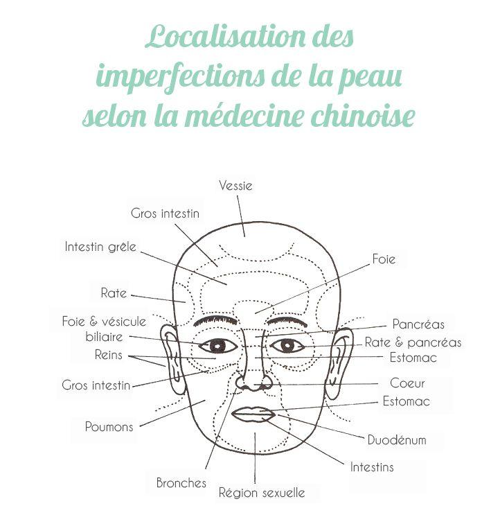 «On regarde le reflet externe pour connaître l'organe interne et l'on apprécie ainsi la maladie» Traité le Ling Shu