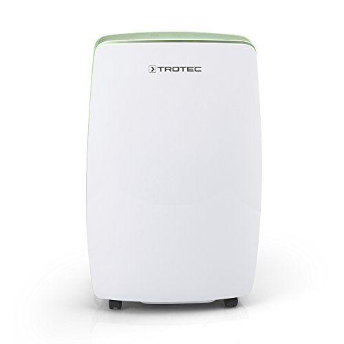 TROTEC Déshumidificateur TTK 68 E: Capacité de déshumidification max. : 20 l/24h Convient pour un volume/une surface max. de 110 m³/45 m²…