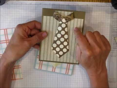 This is an older video from my first YouTube channel that shows how easy it is to create a shirt with tie card, perfect for Father's Day, Graduation or any o...