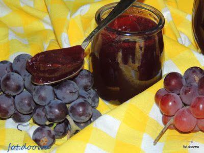 Moje Małe Czarowanie: Galaretka z ciemnych winogron