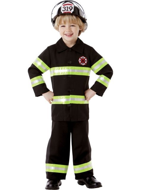 boys reflective firefighter costume party city - Fireman Halloween