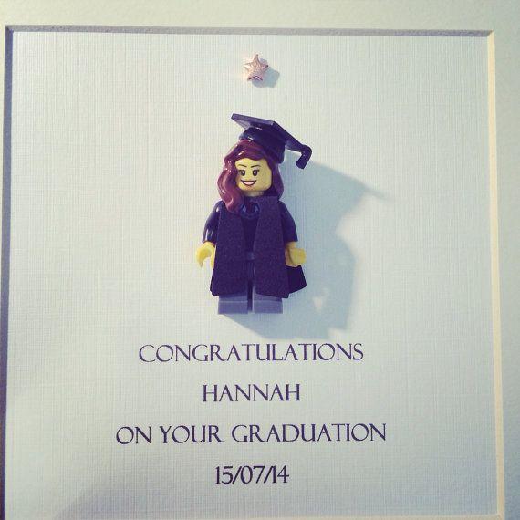 Graduierung Lego Frame. Diplom-Grad Master von SWEETINDIGO auf Etsy
