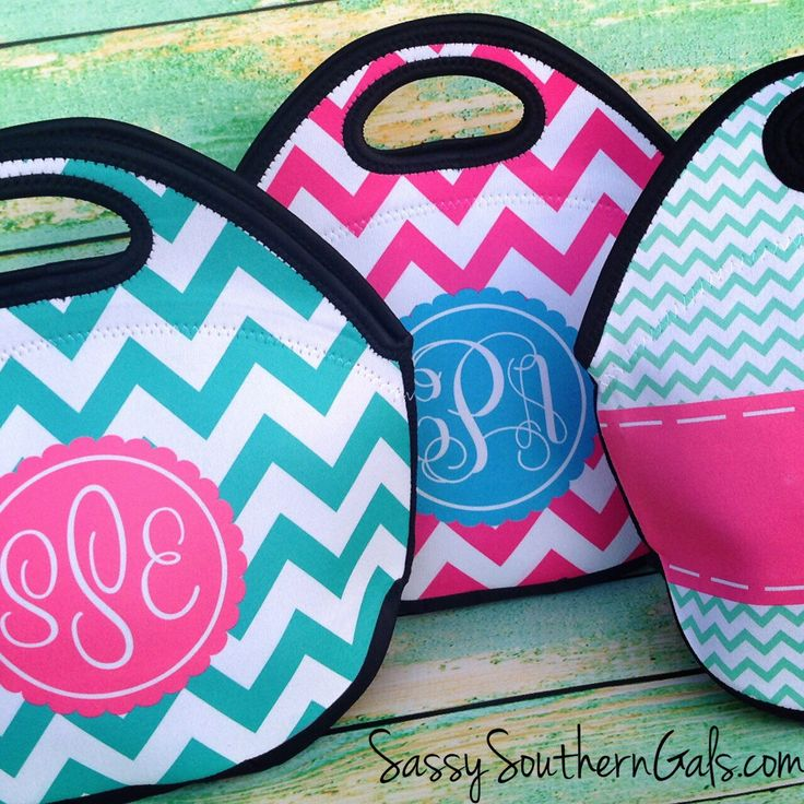 Monogrammed Lunchbox, Monogrammed Lunch Bags Insulated Neoprene, Monogrammed Lunch Bag, Personalized Lunch Tote, Design Your Own by SassySouthernGals on Etsy https://www.etsy.com/listing/215600510/monogrammed-lunchbox-monogrammed-lunch