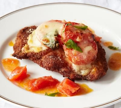 Lidia's Italy: Recipes: Chicken Parmigiana, New Style