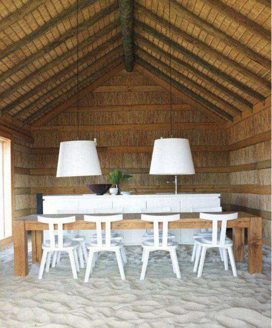 Hotel Style: CasasNaAreia, PortugalSands Floors, Beach Home, Dining Room, Beach House, Elle Decor, Beach Parties, Dinning Room, Modern House, Sandy Toes