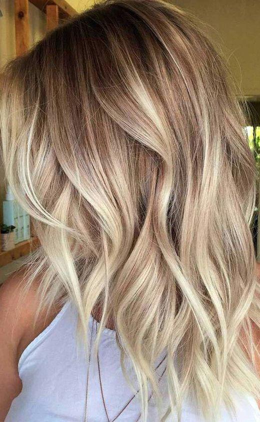 Trendige Mittlere Frisur Frauen Schulterlange Haarschnitt Ideen