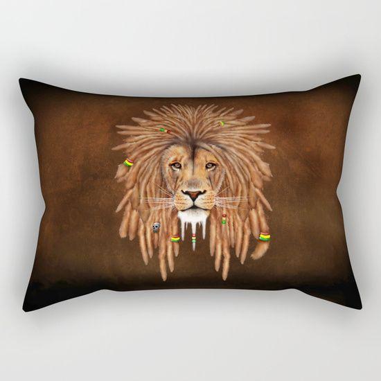 Rasta Lion Dreadlock RECTANGULAR PILLOW CASE @pointsalestore #society6 #rectangular #PillowCover #CostumPillow #Cushion #CushionCase #PersonalizedPillow #painting #digital #oil #popart #streetart #rasta #dreadlock #marley #bob #lion #lionking #simba #kingofthejungle #tarzan #music #raggae #africa #junglebook #beast #animal #cat #bigcat