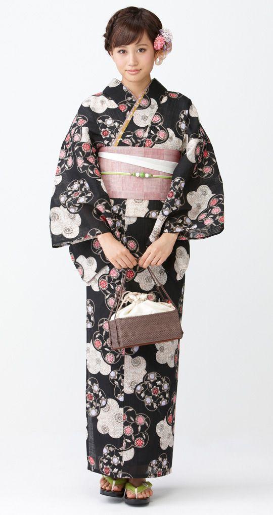 """YUKATA!! """"Subarashiiii-!"""" 女性の浴衣姿、見ているだけで清涼感が漂ってきます。"""