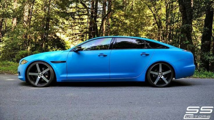 Jaguar Xj Lowered On Cv3 S Customer Submissions