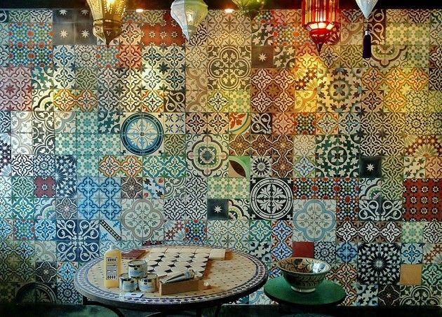 DEKORrech - marockanskt kakel, marrakech kakel, cementkakel, handgjort kakel, zellige, azulejos