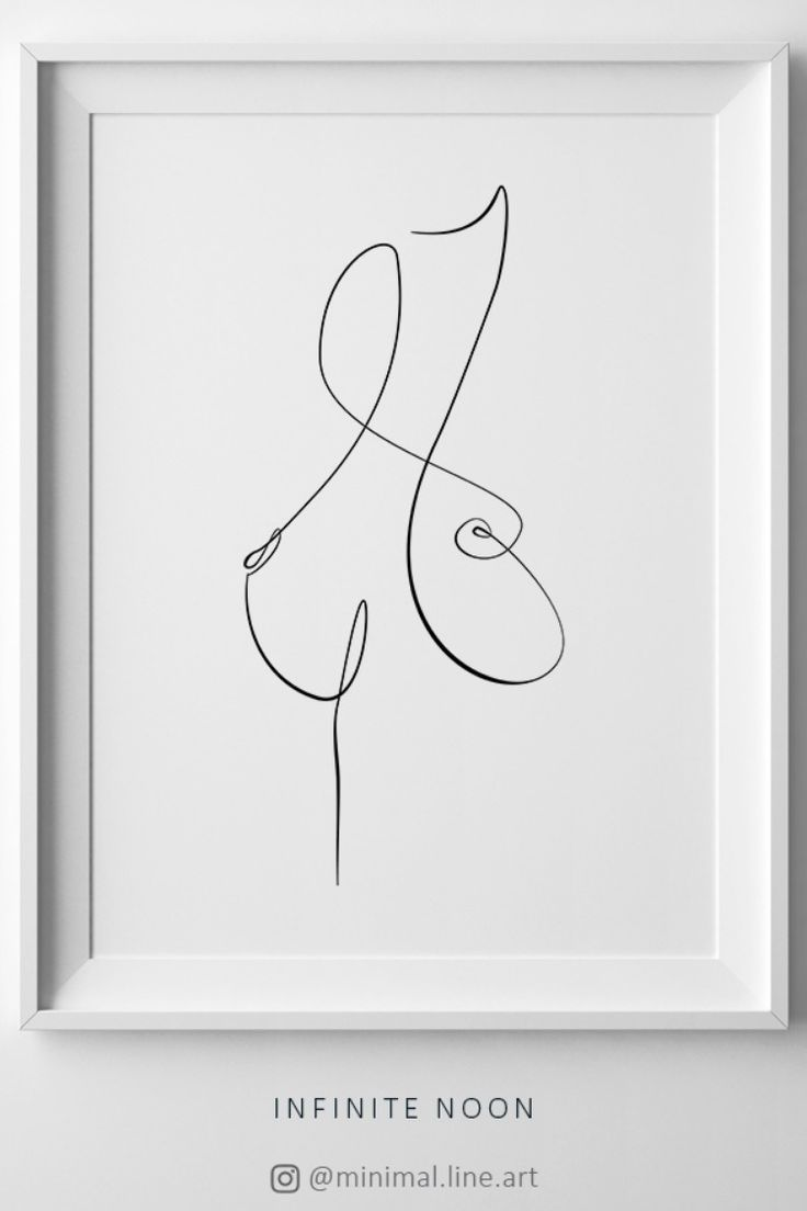 Nude Female Torso Abstract Wall Art – Michel Thiry