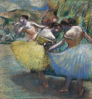 Statement Clutch - The Degas Dance Lesson by VIDA VIDA zF6CqU5Gx