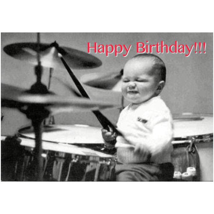 Happy Birthday drummer