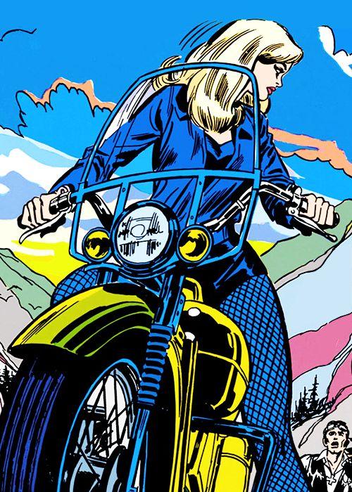 Black Canary in Green Lantern #78 (1970)