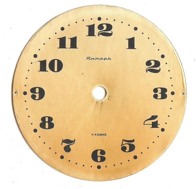 Knick of Time: Antique Graphics Wednesday - Clock Faces