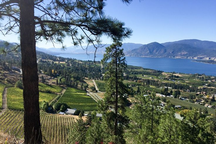 Kettle Valley Railway in Penticton, Canada