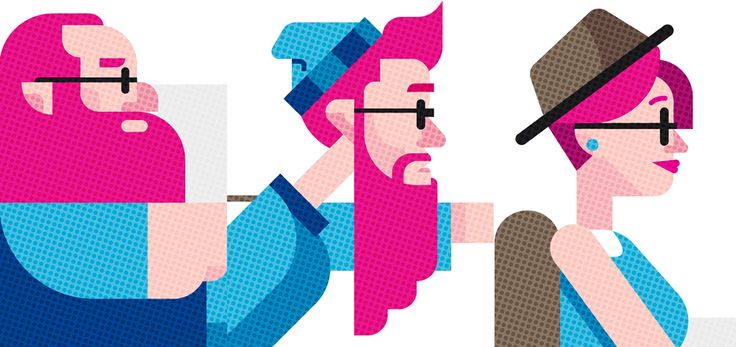 The Hipsters Brothers on Behance