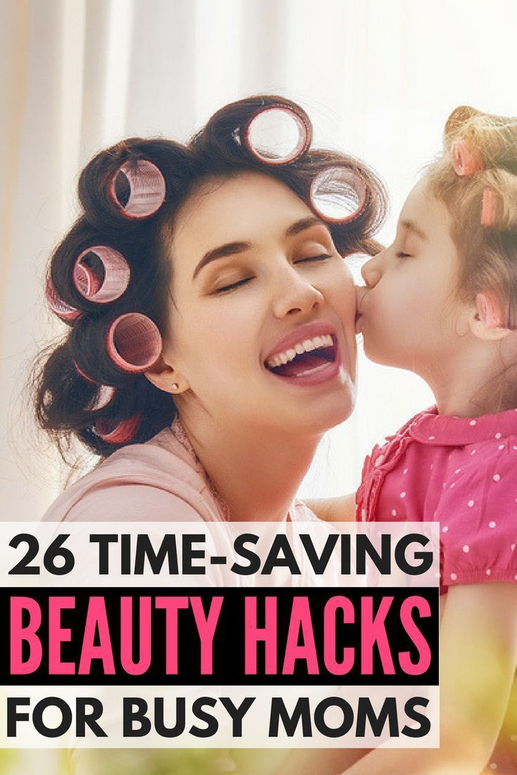 Look good in less time with these beauty hacks for busy moms! Whether you want to learn how to apply makeup in record-breaking time, need tips to draw natural-looking eyebrows, want to know the secret to DIY overnight beach waves, need to hide puffy eyes and wrinkles, want to know how to apply eyeshadow and eyeliner like a pro, need nail hacks… We've got it all, and more! Look good and feel good every single day with 26 beauty hacks every girl should know.