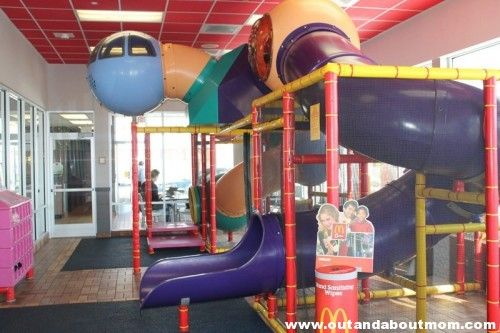 McDonald's Indoor Playplace in West Hartford, Connecticut reviewed by #outandaboutmom