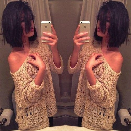 How cool is this cut? I could see myself with this hair cut after I have kids. I like my long hair for now.