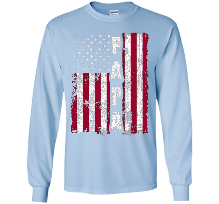 PAPA American Flag T-Shirt Father's Day 2017 Gifts