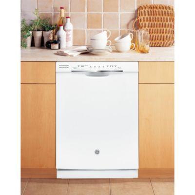 GE 24'' Built-In Tall Tub Dishwasher - White - Sears | Sears Canada
