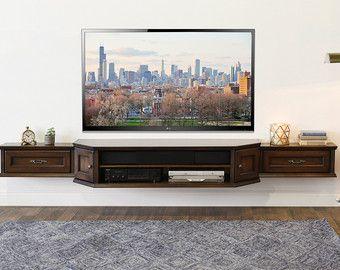Consola de soporte de la TV entretenimiento por WoodwavesInc