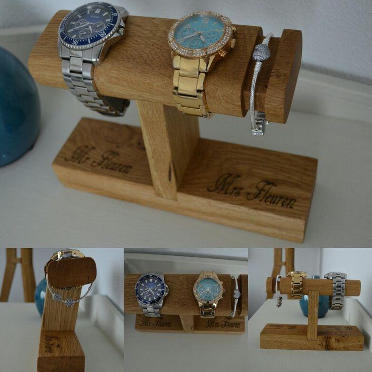 Horloge standaard inclusief armband houder