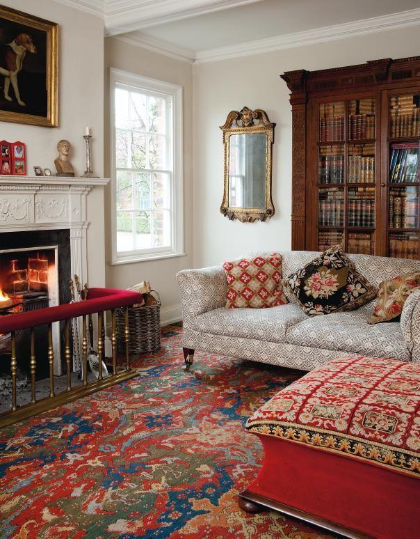 English style interior design - rigor and comfort