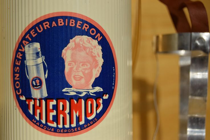Vintage 50's / Conservateur à biberons de la marque Thermos de la boutique AuPresDeMontToi sur Etsy