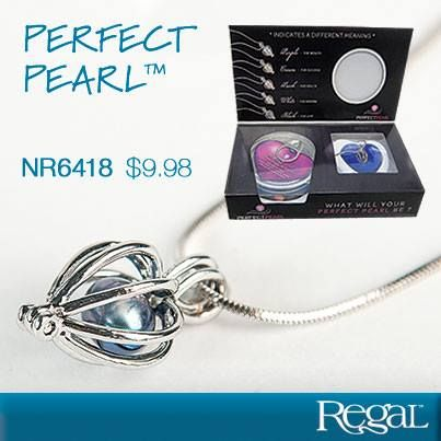 """PERFECT PEARL™ A priceless, one-of-a-kind gift for anyone close to your heart. Open a real oyster from a sealed can to reveal your own genuine cultured pearl in chosen shade, each colour with its own meaning. Place your lustrous pearl in the silver finished locket with chain for a beautiful, unique piece of jewellery. Necklace: 16""""L"""