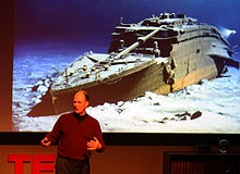 Robert Ballard, discoverer of the R.M.S. Titanic, Bismarck and the USS Yorktown