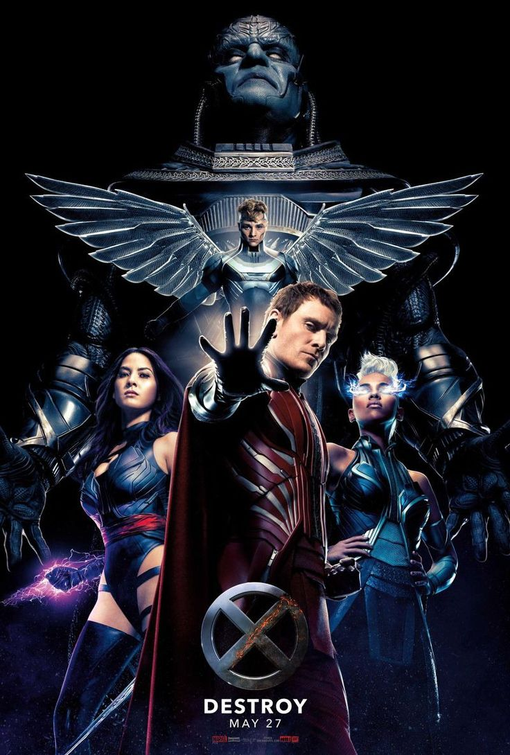 X-Men: Apocalypse - Poster Check out the trailer here.