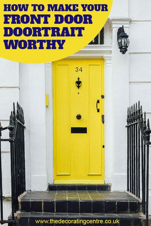 How to make your front door Doortrait worthy - The Decorating Centre - Wetherby