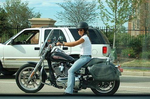 harleys for women | Why Do Women Ride Motorcycles?