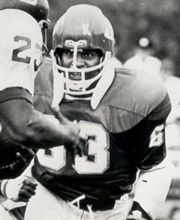 "Willie ""Contact"" Lanier was the first African American to start at Middle Linebacker."