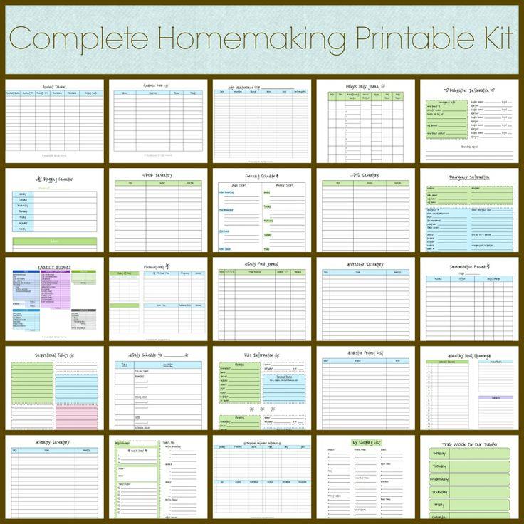 Pinterest - free inventory list template