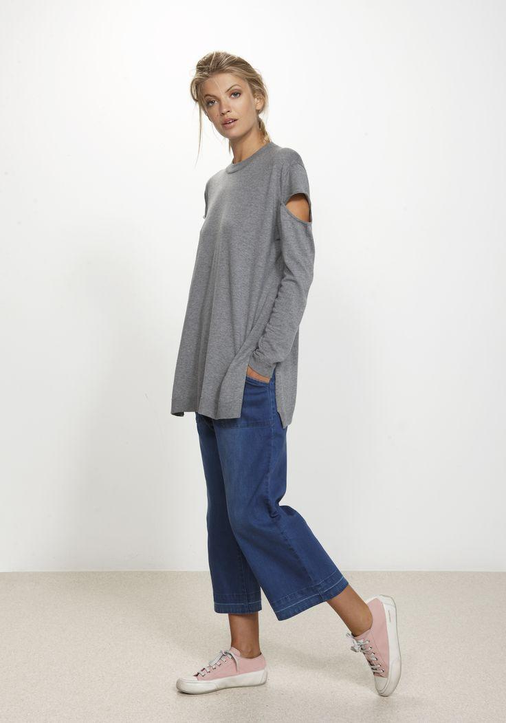 Shadow Sweater Silk/Cashmere/Cotton http://www.nineteen46.co.nz