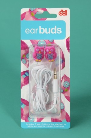 I have these! The sound is terrible in them but they're really cute and great for backup headphones.