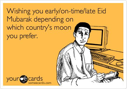 Haha too funny because it's true :) Egypt/Saudi Arabia = On Time, Paki = Late :)