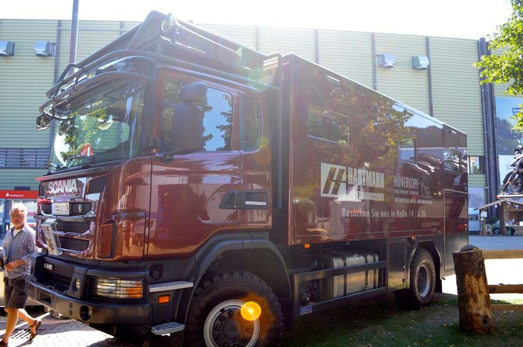 The Radon is built on a Scania G440 CB 4x4 platform