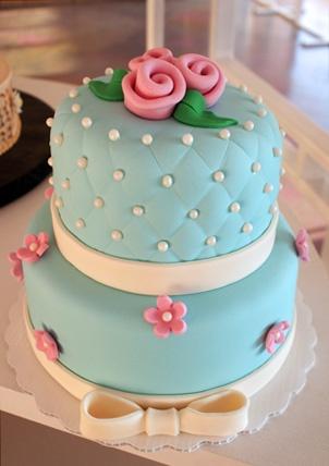 preciosa tarta de boda