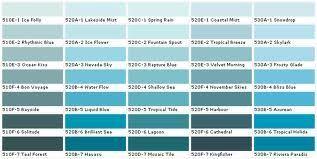 Behr Fan Deck - Water Colors
