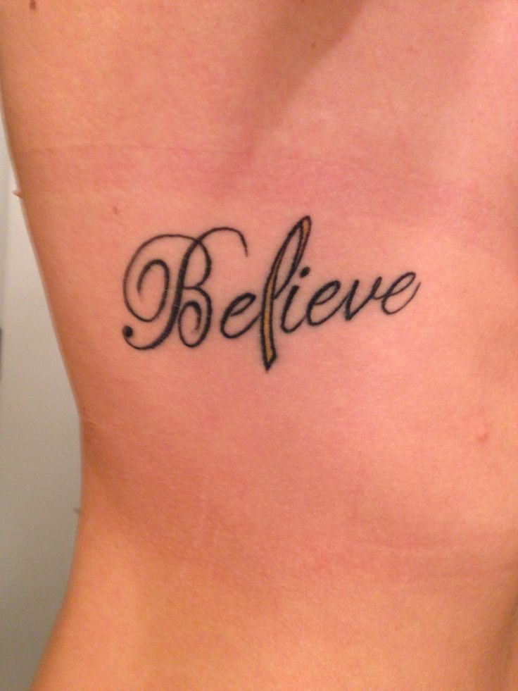 63 best images about ribbon tattoos on pinterest the for Gold ribbon tattoos