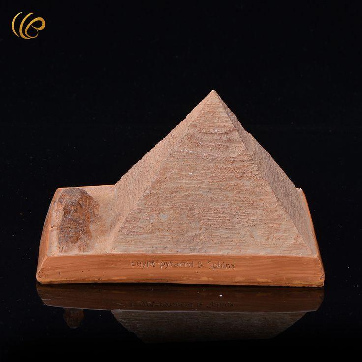 Египетские Пирамиды Статуэтки и Миниатюры Творческий Орнамент Рождественские Подарки для Украшения Стола купить на AliExpress